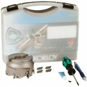 Korloy 2.000 Face Mill Set/includes 1 Paxca5200hr-a 2.0 Andoslash And 10 Xekt19m