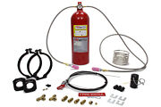 Safety Systems Fire Bottle System 10lb Automatic And Manual Fe36 P/n Pamrc-1002