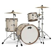 Pacific Drums And Percussion Pdlt2213ti Limited Edition Shell Kit - Twisted Ivory