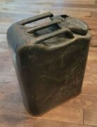 Vintage U.s. Army Jerry Can Steel Gas Water Can Vietnam War 1966