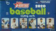 2020 Topps Heritage High Number Hobby Baseball - 12 Box Case