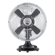 3 Speed Indoor 8'' Retro Metal Bed Any Room Stand Table Fan Black 2day Delivery