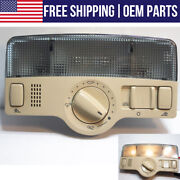 Oem Front Overhead Map Reading Dome Light Lamp Switch Unit For Vw Volkswagen