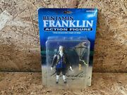 Rare Nib Benjamin Franklin Action Figure Accoutrements New In Box Free Shipping