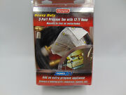 Camco Rv Propane 3-port Brass Tee With 12' Hose New Sealed