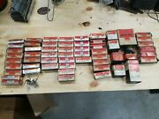 Huge Lot Of Nos Delco-remy/gm Ignition Parts Points Condensers Rotors Brushes