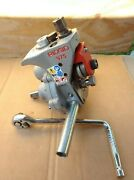Ridgid 25638 975 Combo Roll Groover W/ 90anddeg Ratchet Perfect Condition