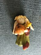 """Gnomy's Dairies - Angel Of The Month -""""november"""" Figurine Annekabouke Ln+++++++"""