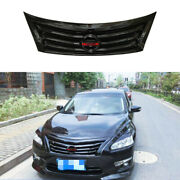 For Nissan Altima Teana 2013-2015 Gloss Black Front Center Horizontal Grille 1pc