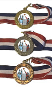 Male Volleyball Team Award 40 Mm Emperor Sports Medal A Optional Engraving