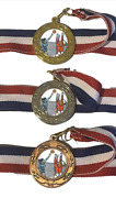 Female Volleyball Team Award 40 Mm Emperor Sports Medal A Optional Engraving
