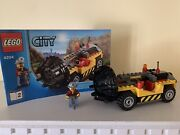 Lego 4204 Mine Drilling Car Complete With Instructions