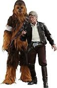 The Force Awakens Han Solo Chewbacca 2-body Set Toys Pipens Limited