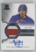 2016-17 Upper Deck The Cup /249 Pavel Buchnevich 110 Rpa Rookie Patch Auto