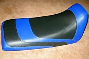 Yamaha Blaster Seat Cover Black And Blue Atv Seat Cover