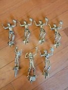 7 Vintage Volleyball Trophy Toppers