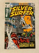 Silver Surfer 13 Vf/nm 9.0 1st App Of The Doomsday Man John Buscema Cover Art