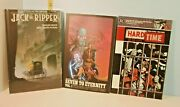 3 Graphic Novel Lot Jack The Ripper, Hard Time And Seven To Eternity No.1 - Nos