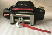 Trailfx 12v Electric Winch With Wire Rope And 9500 Lbs. Capacity Wr95b