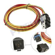 Dual Electric Cooling Fan Wiring Harness Install Kit Thermostat Switch 40a Relay