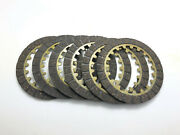 New 6 Pieces Clutch Friction Plate Kit Fit Yamaha Pw80 Z-yinger Bw80s 1986-1990
