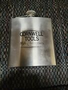 Cornwell Tools 85th Anniversary 6 Oz Flask. New Out Of Box