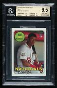 2018 Topps Heritage High Number Mini /100 Juan Soto 502 Bgs 9.5 Rookie