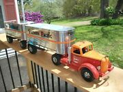 Smith Miller L Mack Southern Pacific Double Trailer Semi 28 Of 250