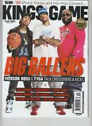 Allen Iverson Tyga Rick Ross Slam And Xxl Kings Of The Game Magazine 2013 Nolabel