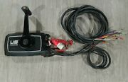 Us Marine Shift And Throttle Remote Control Assembly Trim/tilt And 14 1/2and039 Harness