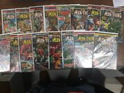 Marvel Comic The Man-thing 1 2 3 4 5 6 8 9 10-17 Fn- /vf- Bagged Boarded 1973