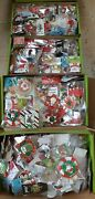 Huge Lot Of 150 Pieces Of Christmas Jewelry Vintage And New Handmade Gift Wrapped