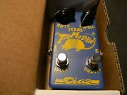 1995 Cesar Diaz Texas Tremodillo Pedal Generation 1 Signed Blue New Old Stock