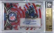 2015 Finest Red Refractor Nfl Shield 1/1 Todd Gurley Ii Rpa Rookie Patch Auto