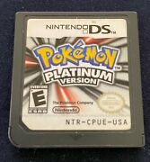 Pokemon Platinum Version Nintendo Ds, 2009 Authentic Tested Cartridge Only