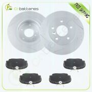 Rear Brake Rotors And Ceramic Pads For Land Rover Discovery Lr2 L318 Hse 99-03