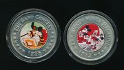 Collection Of 2- The Disney Decades Coins, Mickey Mouse            G