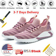 Womens Work Safety Shoes Boots Steel Toe Cap Bulletproof Indestructible Sneakers