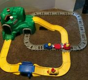 Little Tikes Green Mountain Peak Railroad And Raceway With Accesories