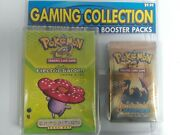 Pokemon 3 Pack Blister And Theme Deck - Electric Garden Neo X2 Ex Sandstorm -rare