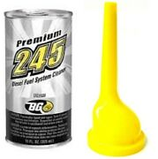 Bg245 Premium Diesel Fuel System Cleaner 11oz Can And Funnel