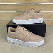 Nike Womenand039s Air Force 1 Pixel Particle Beige Size 7 Ck6649-200