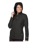 Free Country Ladieand039s Waterproof Rain Jacket Black Check For Size