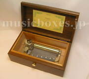 New 50n Anthem Usa The Star Spangled Banner Arr.b 2parts Music Box W+s Orpheus