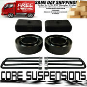 Dodge Ram 1500 94-01 Full Lift Kit 2 Front Spring Spacers + 1.5 Rear Lif 2wd
