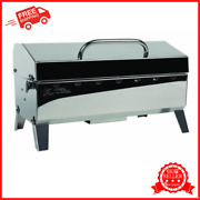 Portable Boat Gas Grill + Mounting Features Sailboat Marine Bbq Barbecue Camping