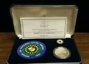 1997 National Law Enforcement Officers Memorial Commemorative Coin Insignia Set
