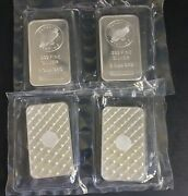 4 - 5 Ounce .999 Fine Silver Sunshine Minting Bars