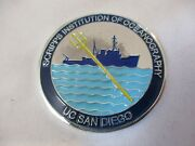 Scripps Institution Of Oceanography Uc San Diego R/v Melville Challenge Coin