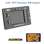 2.8inch Tft Screen Fm Audio Car Lossless Full Format Mp5 Usb Sd Bluetooth Module